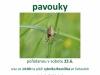 plakát Po Svitavsku za pavouky